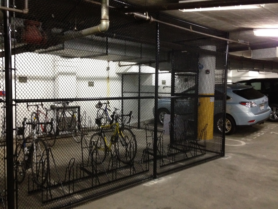 SurveyMonkey Palo Alto CA (bike cage in parking garage) & Parking u0026 Storage